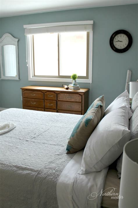 neutral farmhouse master bedroom makeover   northern nester