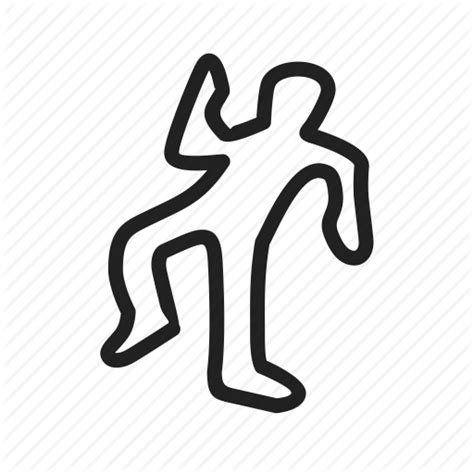 Dead Outline Png by Crime Dead Murder Person Icon Icon Search Engine