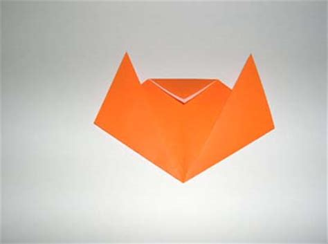 Origami Cat Ears - origami cat folding how to make an
