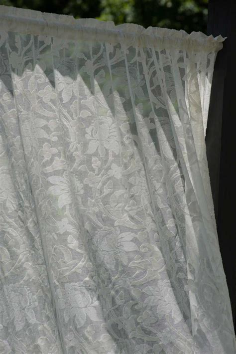 lace curtains spotlight kensington madras lace curtain and yardage direct from