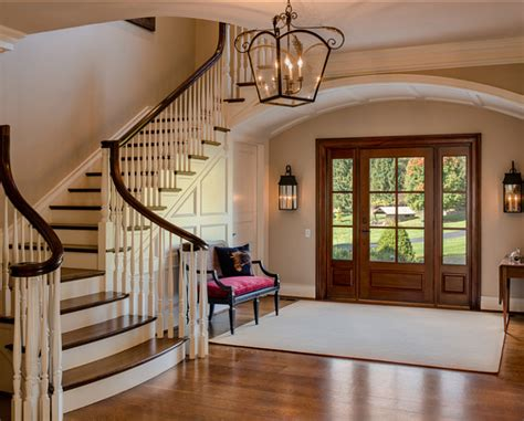 Interior Entryway Designs Traditional Home With Timeless Interiors Home Bunch