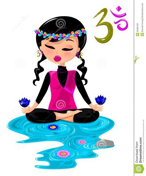 yoga zen clip art free zen royalty free stock image image 35305726