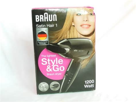 Braun Hair Dryer Review braun satin hair 1 style and go hair dryer review