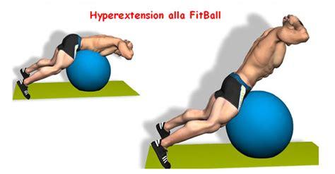 esercizi lombari a casa iperestensioni a terra o sulla panca per i muscoli lombari