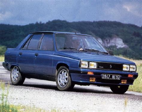 planet d cars 1985 renault 9 turbo