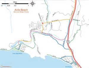 avila california map avila bike map maplets