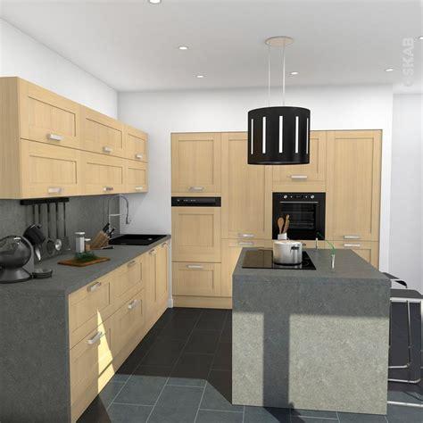 駑ission de cuisine sur 2 cuisine bois verni rustique mod 232 le basilit bois verni
