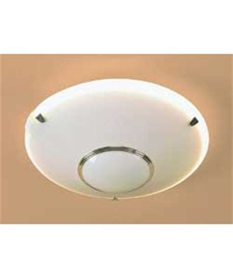 plug in circular fluorescent fitting chrome trim ceiling