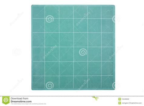 Used Mat by Cutting Mat As Used By Graphic Designers Stock Photography