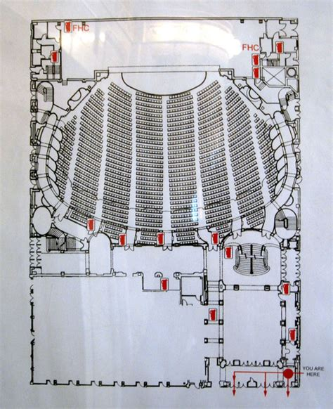 Chicago Theater Floor Plan | chicago theatre in chicago il cinema treasures