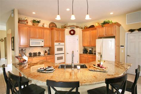 Kitchen Island Or Table Granite Countertops Orlando Adp Surfaces
