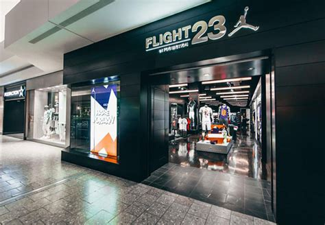sneaker shops usa another flight23 store opens outside of chicago