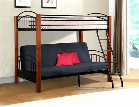 futon desk bunk bed bunk bed with futon bottom canada