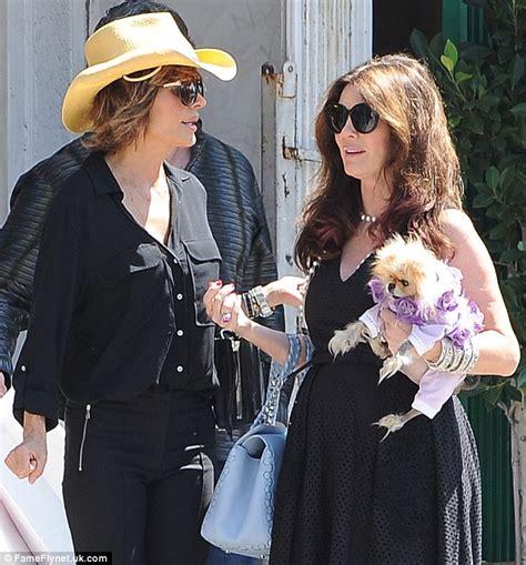 what kind of dog does lisa rinna have lisa rinna and lisa vanderpump film real housewives