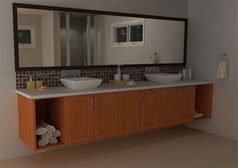 bathroom in kitchen ikea vanities transitional versus modern