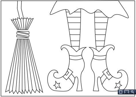 witch feet coloring page generous witches shoes template ideas resume ideas