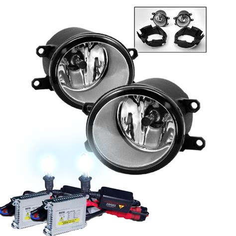 How To Install Aftermarket Fog Lights by 06 08 Toyota Rav4 Oem Clear Fog Lights Hid Kit