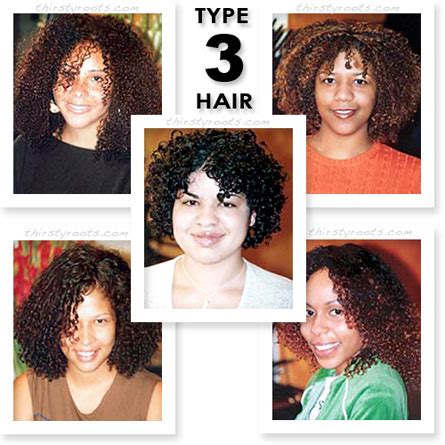 Type 3 Hair black hair types