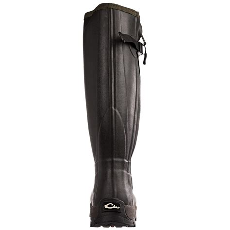 mst side zip knee high mudder rubber boots for
