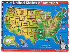 United States Puzzle Map by United States Map Puzzle Related Keywords Amp Suggestions