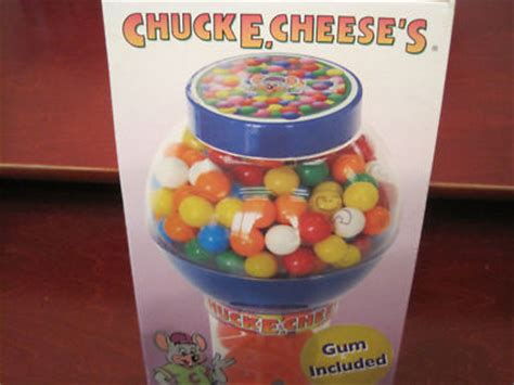 Gumball Cheesy chuck e cheese gumball machine used w gumballs antique