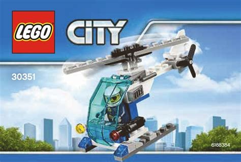 Lego City Helicopter And Robert neue lego city 2017 polybags 30351 30352 30353