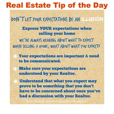 don t let your expectations be an illusion when selling a