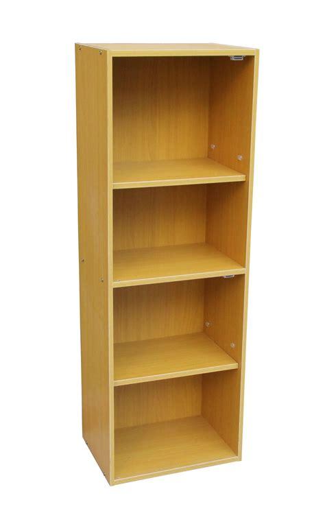 4 tier adjustable book shelf