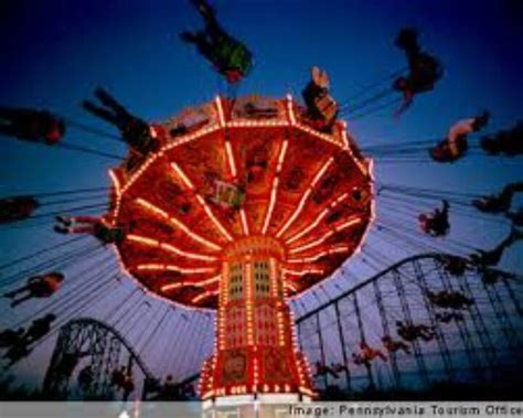 swings amusement park ride swings at kennywood pittsburgh pennsylvania pinterest