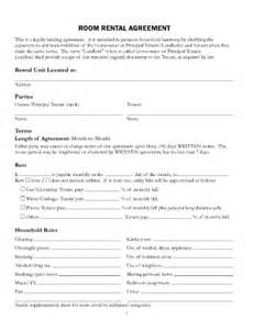 Occupancy Agreement Template Occupancy Agreement Form For Room Rent Fill Online
