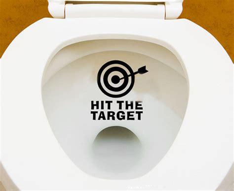List Of Gift Cards Sold At Target - quot hit the target quot creative toilet hollow waterproof art stickers home decoration ebay