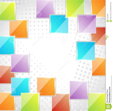 abstract creative background with squares stock images
