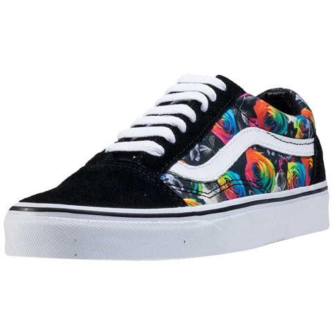 amazon vans amazon com vans unisex old skool rainbow floral skate