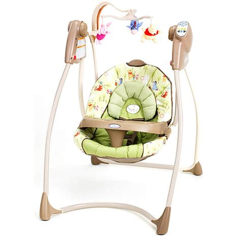 winnie the pooh swinging crib graco lovin hug swing walmart com