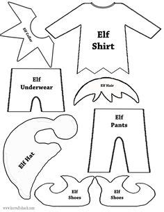 printable elf project these free printable santa elves pages also christmas