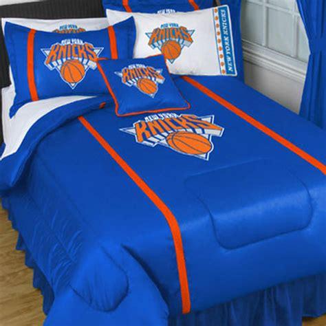 knicks bedroom nba new york knicks queen full comforter set 3pc ny