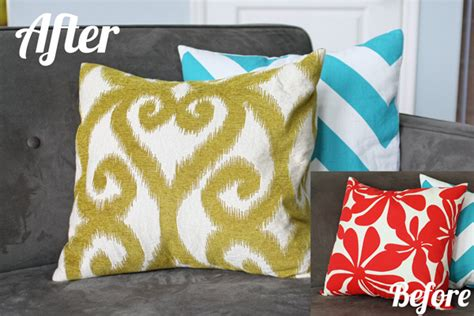 envelope pillow cover tutorial school of decorating by