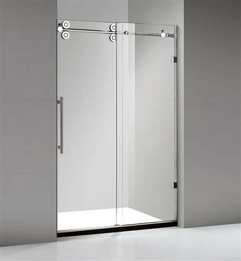 70 Inch Closet Doors Frameless Sliding Shower Doors Leak Cardinal Shower Door Hula Home 100 Frameless Slider Shower