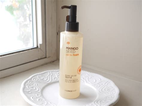 Detox Shoo Foam Review thefaceshop mango seed to foam cleanser a beautiful zen