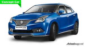 suzuki new car in india suzuki baleno rs