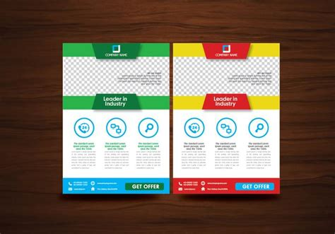 free download unijoy layout vector folleto folleto dise 241 o vector plantilla vector