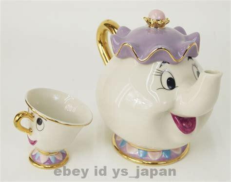 Teapot And The and the beast teapot mug mrs potts chip tea pot