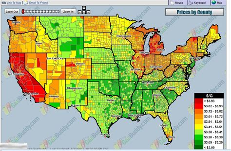 heat map of america usa gasoline heat map musings from the chiefio