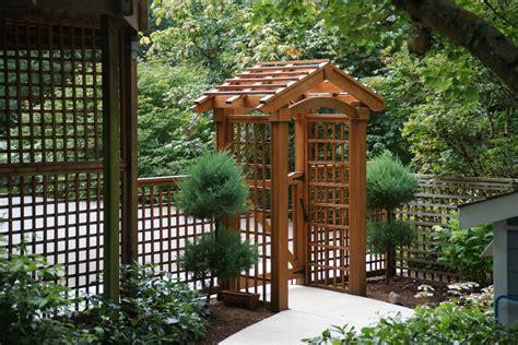 Front Door Trellis Front Door Arbor Landscape Traditional With Garden Entry Garden Entry Wood Fence