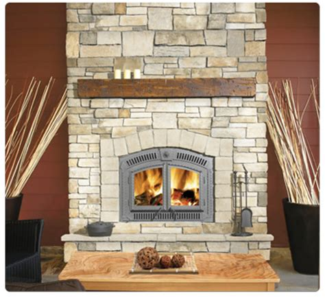 no power needed with wood burning fireplace inserts