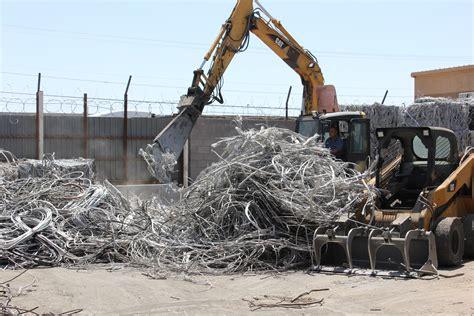 scrap metal yard images