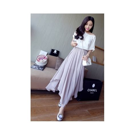 Rok Panjang Wanita Gesy Skirt rok panjang wanita korea t1136 moro fashion