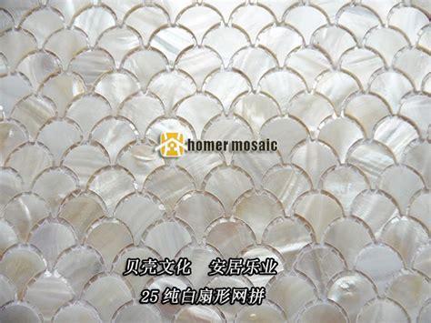 mosaik fliesen kaufen aliexpress fischschuppen white shell mosaik