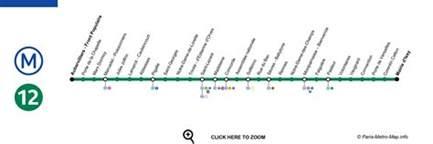 ligne 12 m 233 tro de plan horaires et 233 tat du trafic