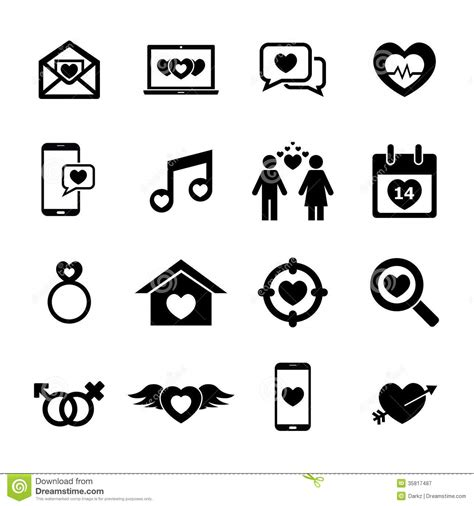 design you icon love icon royalty free stock photography image 35817487